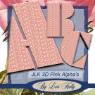 JLK 3D Pink Alpha's - ON SALE!