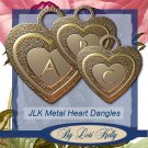 JLK Metal Heart Dangles - ON SALE!