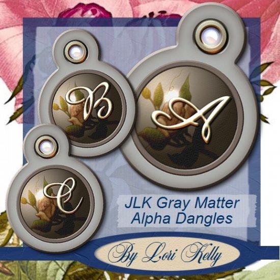 JLK Gray Matter Alpha Dangles