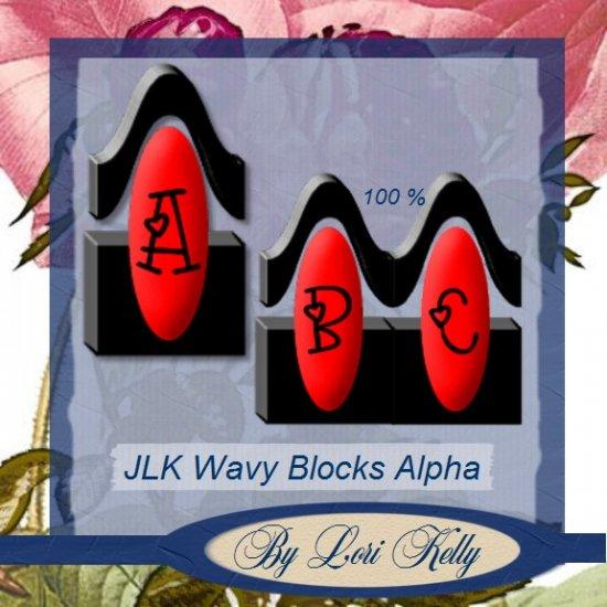 JLK Wavy Blocks Alpha - ON SALE!