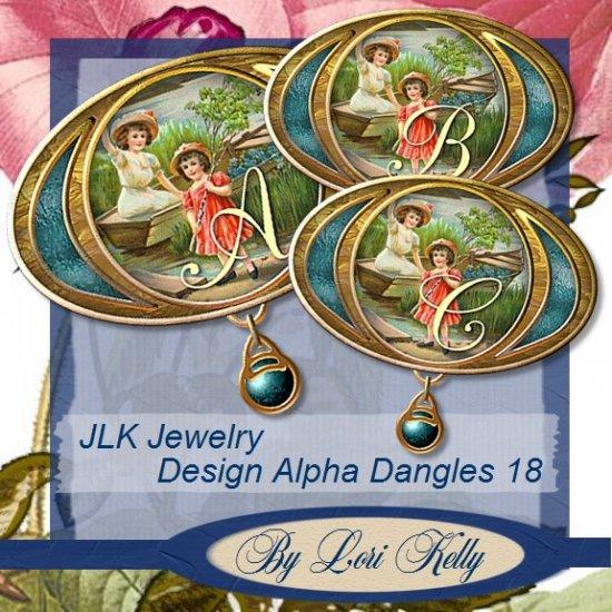 JLK Jewelry Desing Alpha Dangles 18