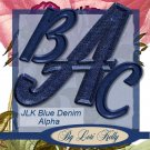 JLK Blue Denim Alpha - ON SALE!