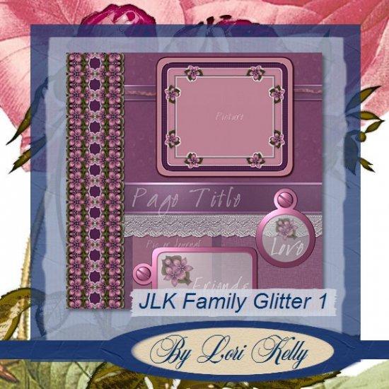 JLK Plum Flowers & Lace Templates
