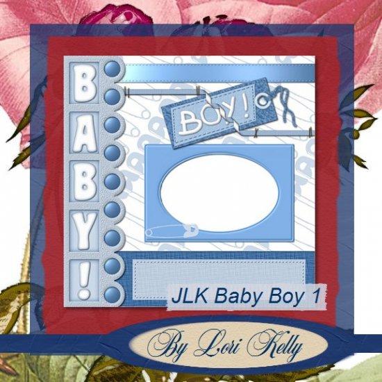 JLK Baby Boy 1 Template