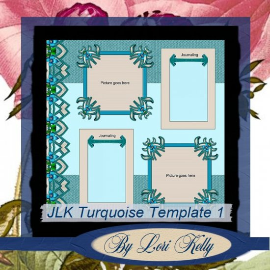 JLK Turquoise Template