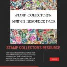 STAMP COLLECTORS BUMPER RESOURCE COLLECTION lot of worldwide masons SCOT LONDON