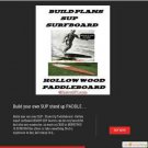 DIY PLANS Surfboard  Board Surfboards Surfing Surf Beach Ocean Body Boarding New