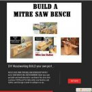 BUILD PLANS DIY Mitre Saw  + 10K Woodworking How Plans #diywoodworking
