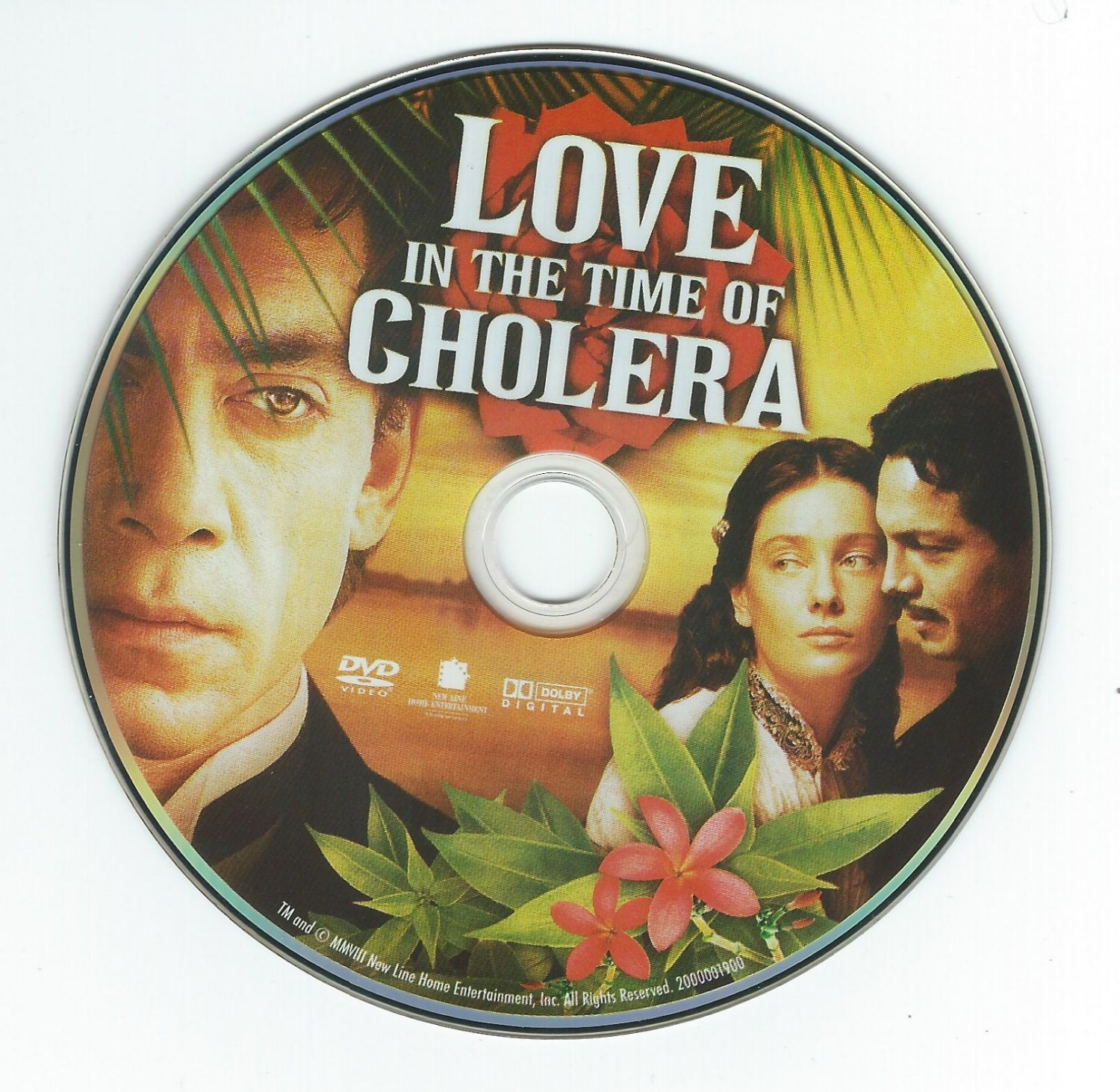 Love in the Time of Cholera (DVD without cover) Javier Bardem