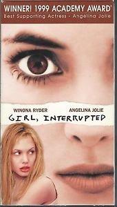 Girl, Interrupted (VHS) Winona Ryder, Angelina Jolie