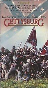 Gettysburg (VHS) Tom Berenger, Jeff Daniels, Martin Sheen