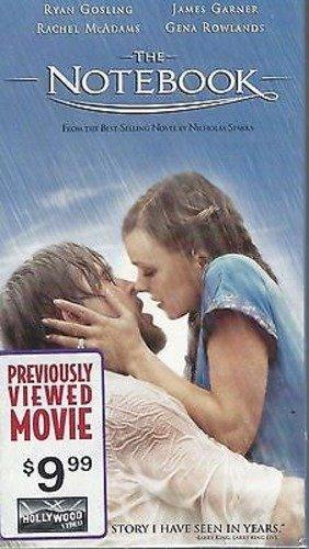 The Notebook (VHS) Ryan Gosling, Rachel McAdams
