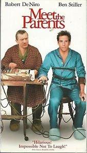 Meet the Parents (VHS) Ben Stiller, Robert De Niro