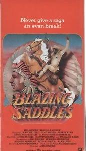Blazing Saddles (VHS, Fullscreen)