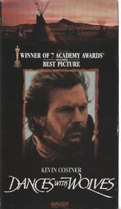 Dances with Wolves (VHS) Mary McDonnell, Kevin Costner