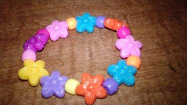 Flower Power Stertch Bracelet