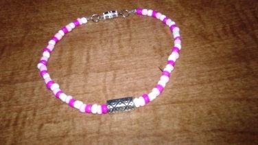 Long Bead Ankle Bracelet