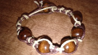 Hemppy Wooden Bracelet