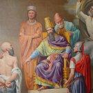 CANVAS MASONIC Cryptic Room Mural FREEMASONRY MASONIC Painting Stretched Decor
