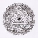 CANVAS All seeing Eye of Providence FREEMASONRY MASONIC Painting Stretched Decor