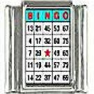 Bingo Card Charm