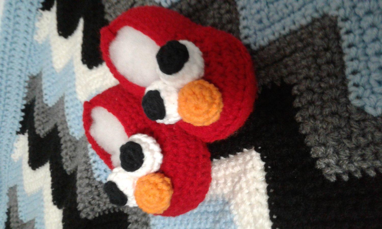 Elmo baby shoes