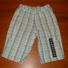 NWT Baby Gap Plaid Pants