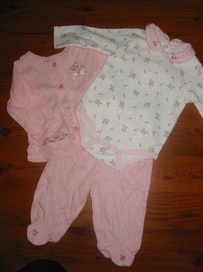 NWT Baby Inc  Sweater, L/S Onesie & Pants