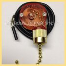 US SELLER/FREE S&H! ZING EAR CEILING FAN LIGHT PULL CHAIN 2 WIRE SWITCH ZE-109