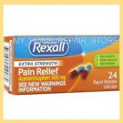 24 REXALL EXTRA STRENGTH ACETAMINOPHEN PAIN RELIEF GELCAPS 500Mg GENERIC TYLENOL