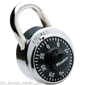 FAST FREE S&H! MASTER LOCK DIAL COMBINATION LOCK 1500D NEW IN PACKAGE! US SELLER