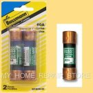 FREE S&H! 2 PACK! BUSS MANN NON 60 AMP 25O VOLT CARTRIDGE   MAIN FUSE  BP/NON-60