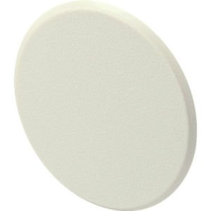 """HOLE IN YOUR WALL ? SMOOTH  IVORY  3 1/4 """" DOOR STOP WALL PROTECTOR ! FREE S&H !"""