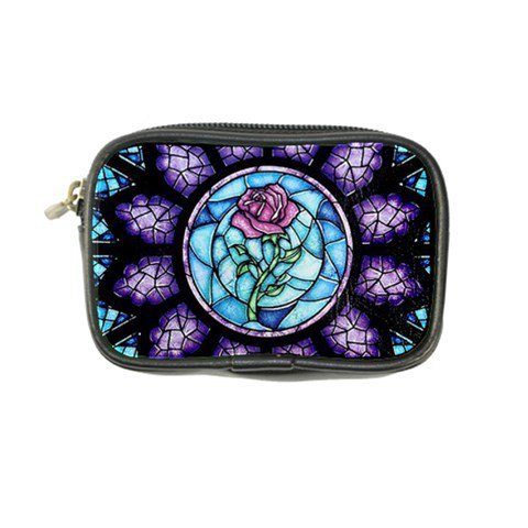 Cathedral Rosette Stained Glass Beauty And The Beast Coin Purse