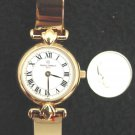 Vintage French Michel Herbelin Ladies Watch Gold Bracelet 1 Jewel