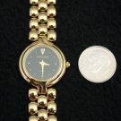 Simon Chang Ladies Watch Faux Diamond, Gold Plate, France, Swiss 7 Jewel