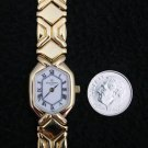 French Michel Herbelin Ladies Watch Gold Plate Chain 3 Jewel, 156