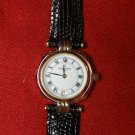 French Michel Herbelin Ladies Watch Stainless Lizard ETA Swiss 7 Jewel, 84-R