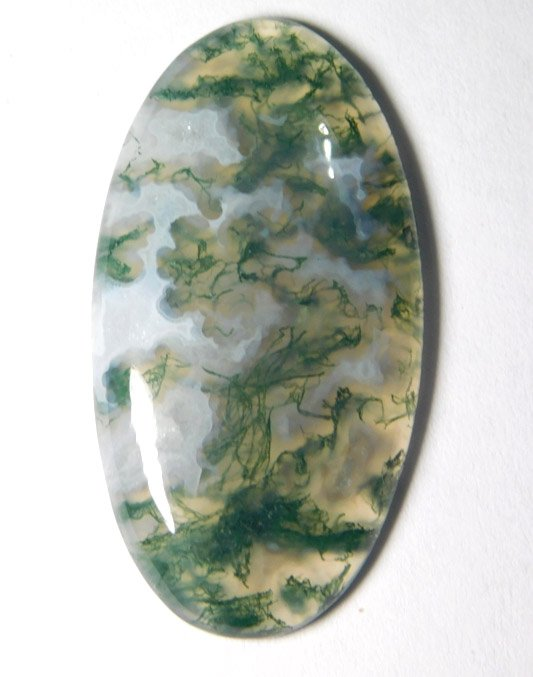 Moss Agate gemstone top quality cabochons natural gemstone .