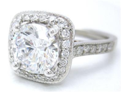 ROUND CUT DIAMOND ENGAGEMENT RING 2.26CTW