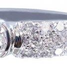 14K WHITE GOLD ROUND CUT DIAMOND ENGAGEMENT RING SEMI BEZEL 1.85CT G-VS2 EGL USA