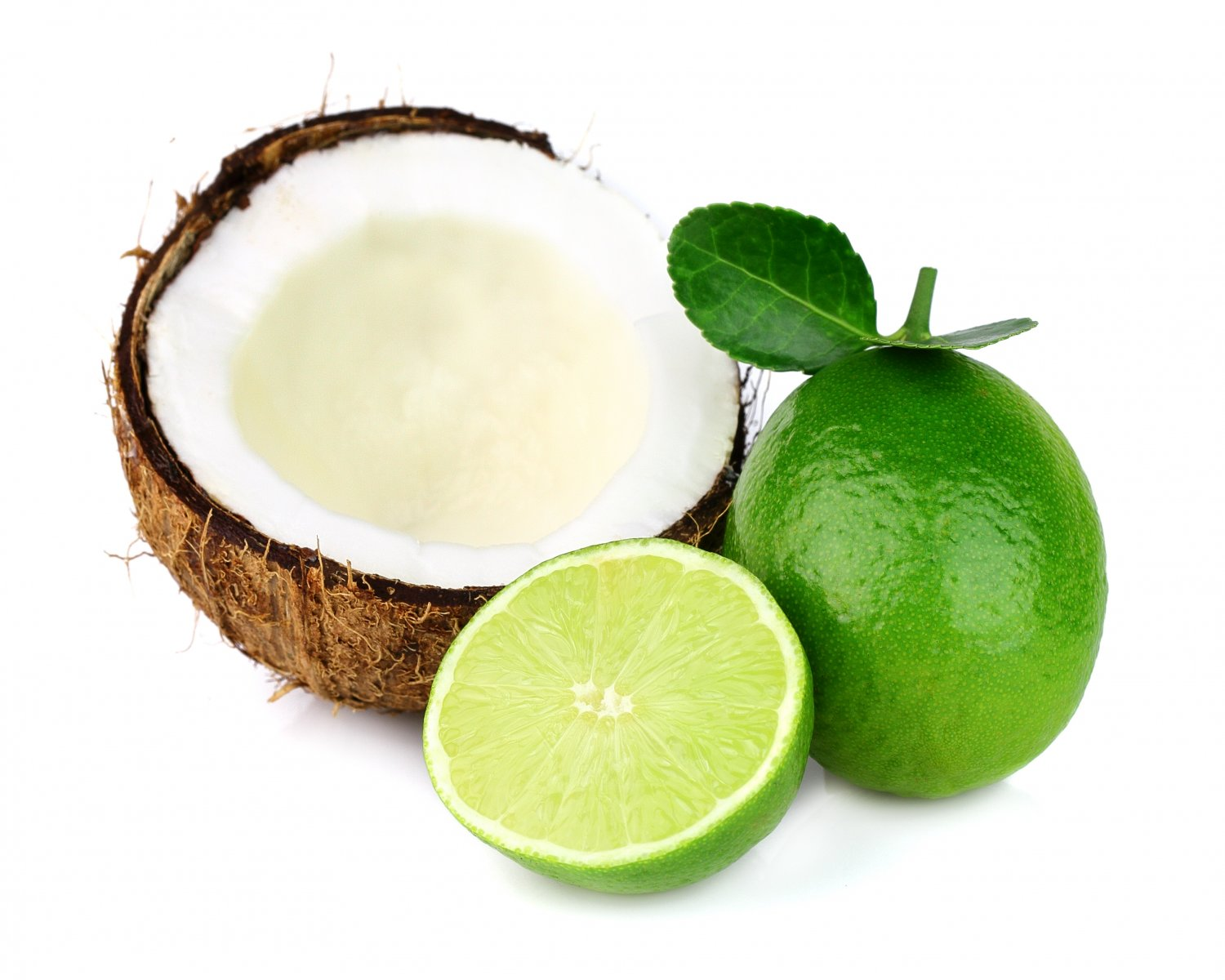 Natural Coconut Lime Scented Soy & Shea Butter Body Lotion 16 Oz