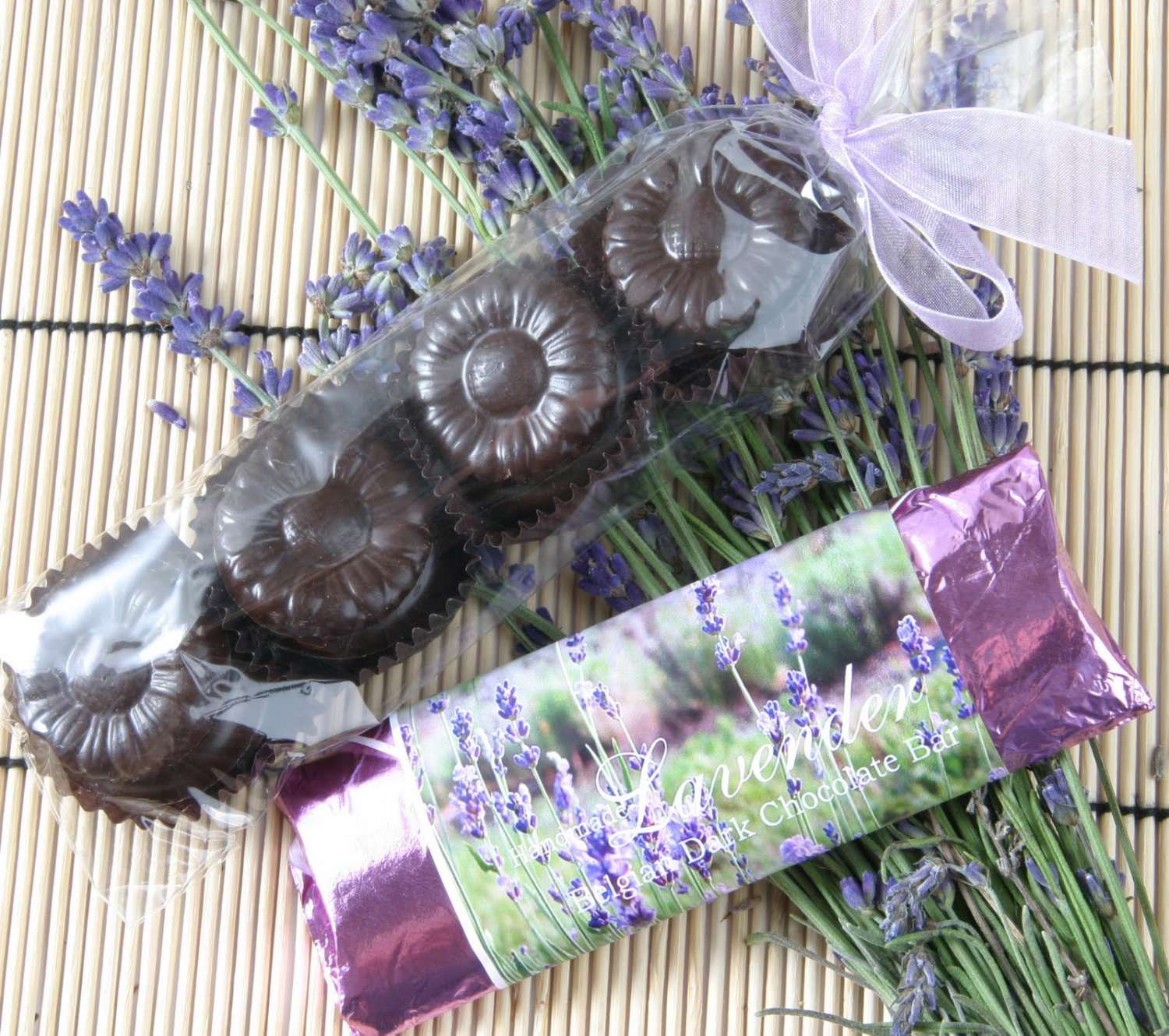 Natural Lavender Chocolate Scented Soy & Shea Butter Body Lotion 16 Oz