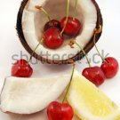 All Natural Cherry Coconut Scented Shampoo 2 Oz