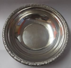 "Vintage Adorable Prelude International Sterling Silver B179 6"" Bowl Candy Tray"
