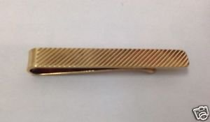 "Vintage 14K Yellow Gold 1 5/8""in Tie/Money Clip Bar 6mm Excellent Condition"