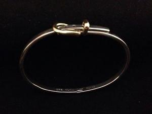 Sterling Silver 925 Belt Adjustable Bangle Bracelet Cuff Brass Buckle Tax Mexico