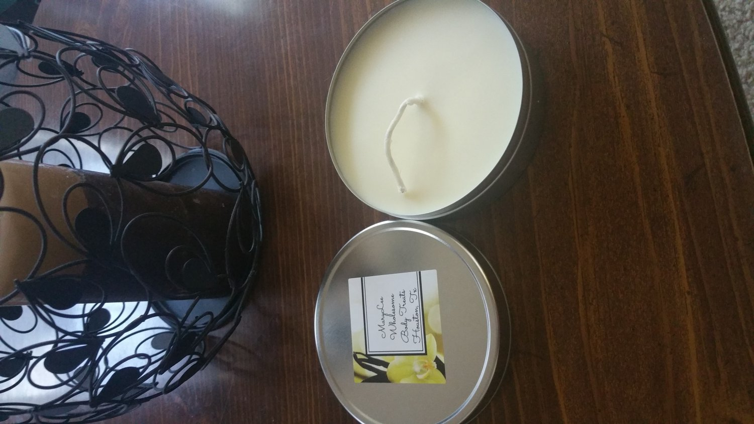 A Berry Good Night Soy Massage Candle