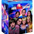 The Big Bang Theory Complete Season Box Set 1-8 Blu-ray 1 2 3 4 5 6 7 8 NEW m26