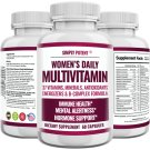 Women's Daily Multivitamin for Energy Metabolism Immune Hormone Hair Nails Skin